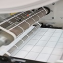Thermal Labels on Press