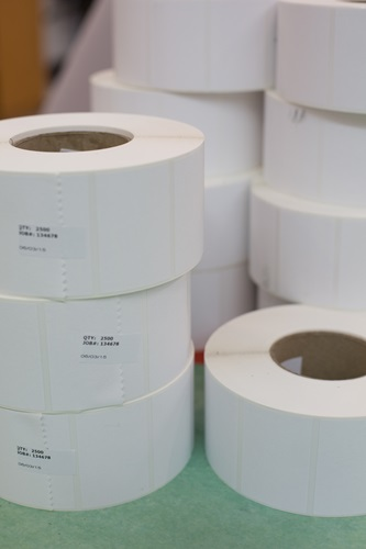 Blank Thermal Labels in Rolls